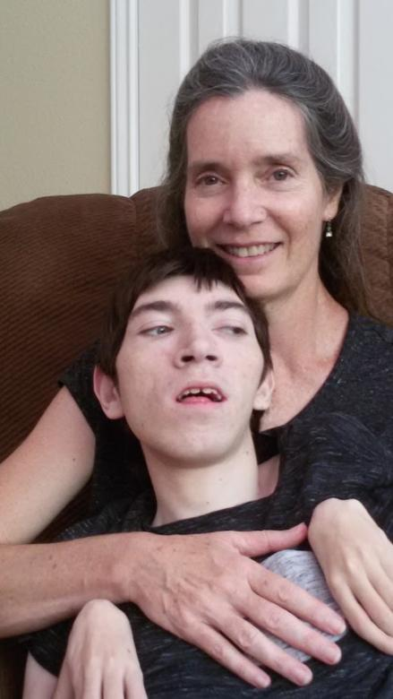 Diane Stonecipher with her son, Luke