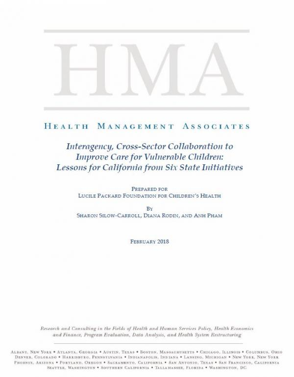 HMA Report Cover