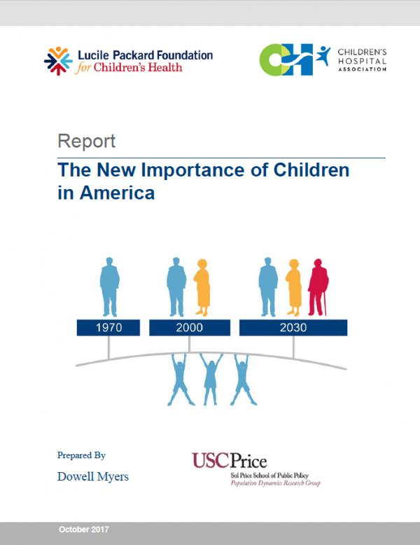 Cover Image - The New Importance of Children in America