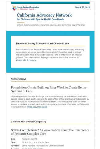 Image of Network Newsletter