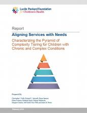 Cover of Aligning Services with Needs Report